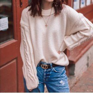 Chicwish | Oversized Thick Knit Sweater